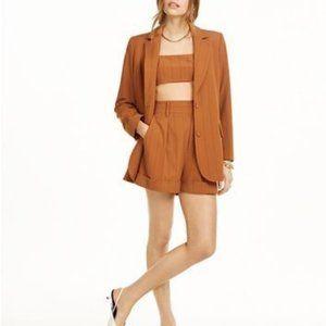 NWT Danielle Bernstein Pinstripe Oversized Blazer